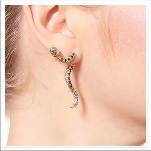 Stylish Dangle Snake Earrings